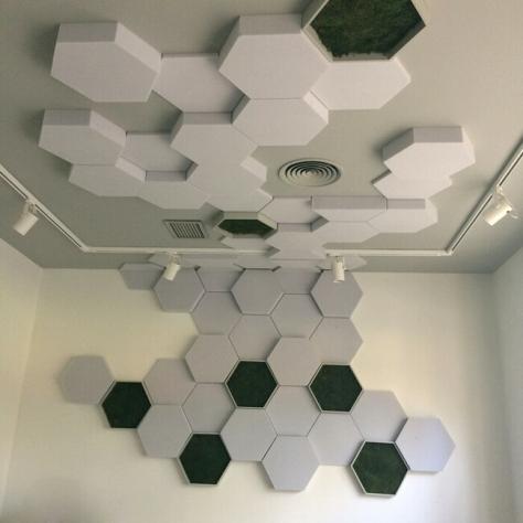 Hexágono mosaico