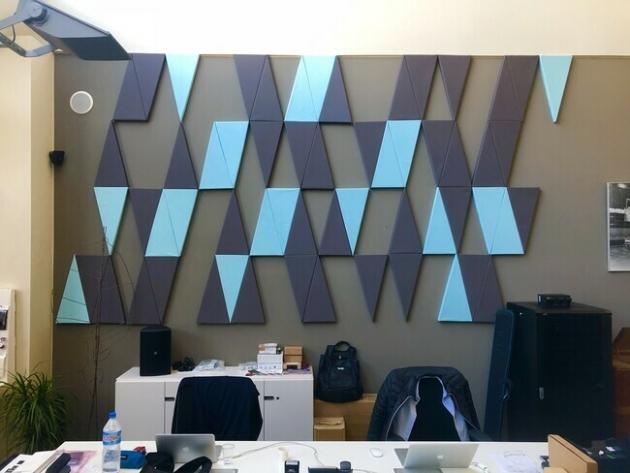 Triángulo mosaico